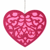 Valentine hanging decoration romantic heart ornament