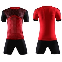 2019 Sports Jersey New Model Red Custom Soccer Uniform