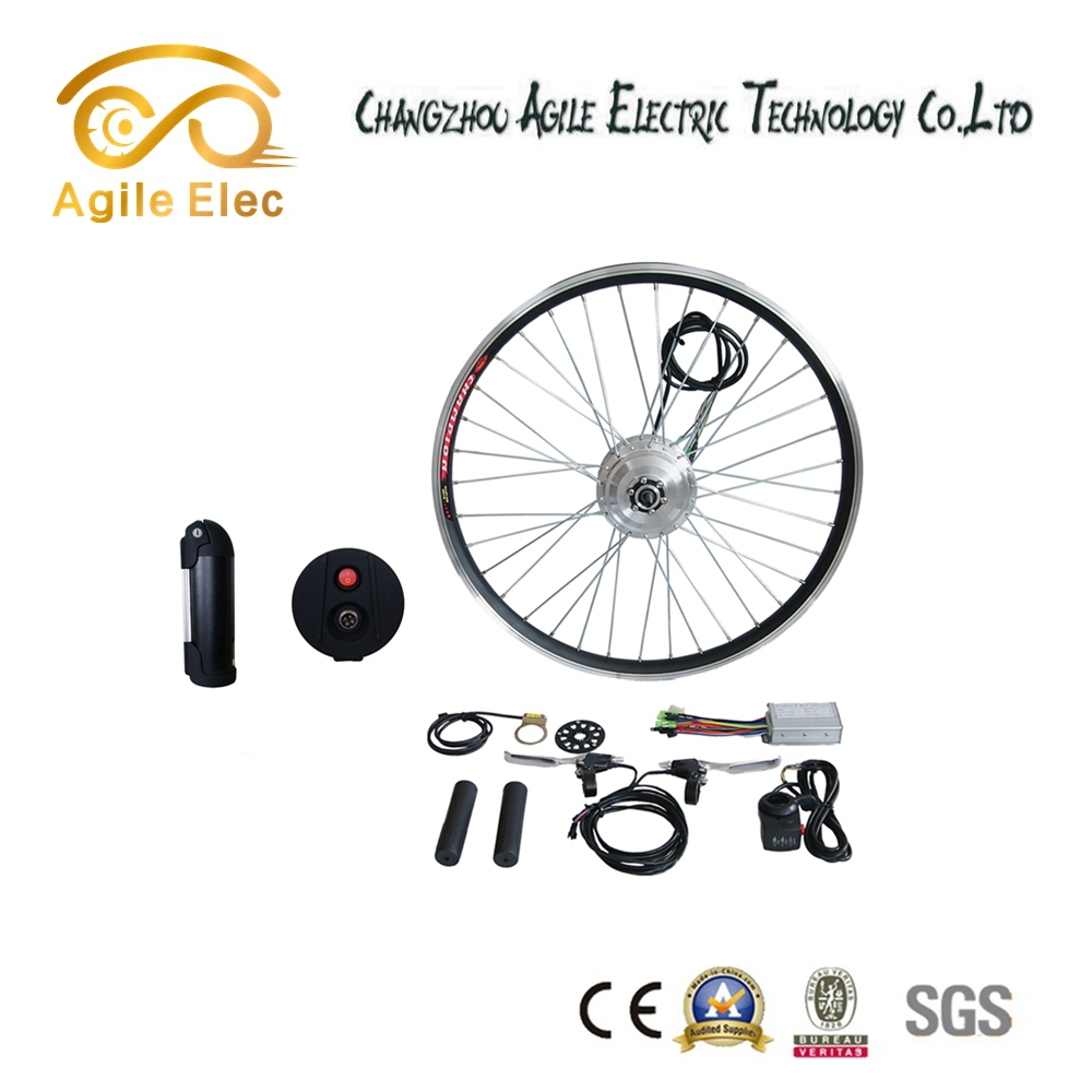 36V 350W Battery Powered DIY E-bike Conversion Kit with Long-term Service