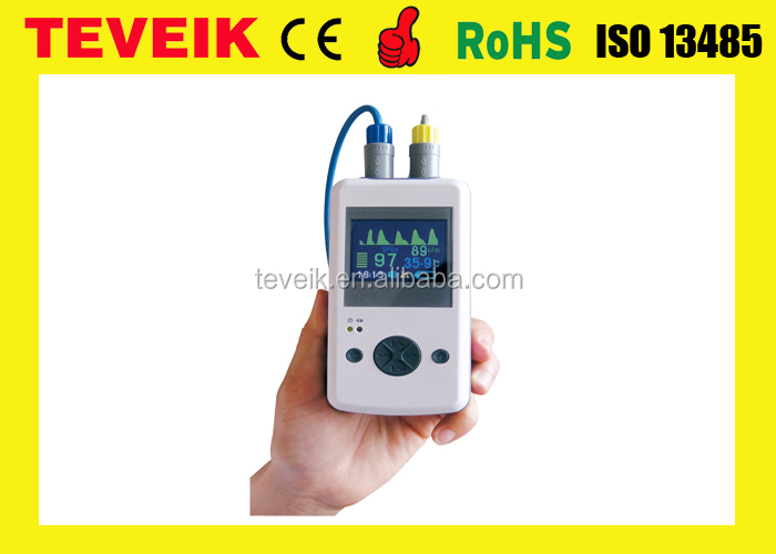 Temperature Fingertip Pulse Oximeter/Oximetry with LCD Real Time Display at Factory Price OEM/ODM with high quality