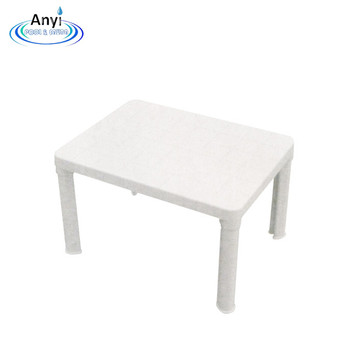 square outdoor portable white plastic table buy cheap plastic