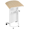 wood rostrum lecture stand speech podium desk