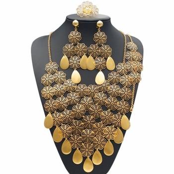 Pakistani Bridal Dresses 2016 Jewels Sets Gold Jewellery 24k Dubai