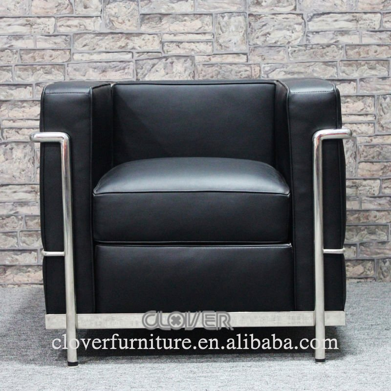 Lc2 sofa aliexpress u best le corbusier lc2 sofa set 2 for Le corbusier replica