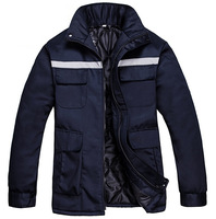 Men Work Clothing Jacket Welder Uniforms Wear-Resistant Outdoor Clothes Long Sleeve Jackets Male Working Factory Uniforms