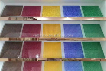Popular Wholesale 2-10mm Decorative Champagne Colored ... |Decorative Colored Glass Sheets