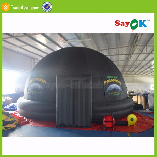 Inflatable Dome Tent Portable Planetarium Takes Astronomy To School Cinema Tent