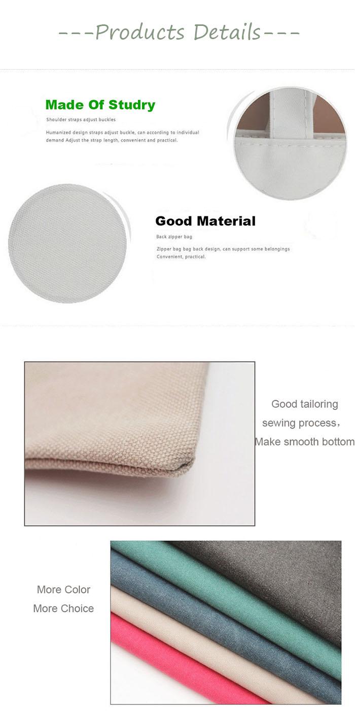 Ginzeal Yiwu Taobao Custom Printed Canvas Tote Bag
