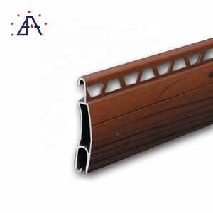 China Supplier Security Storm Louver Electric Roll Up Aluminum Profile Roller Shutter Parts