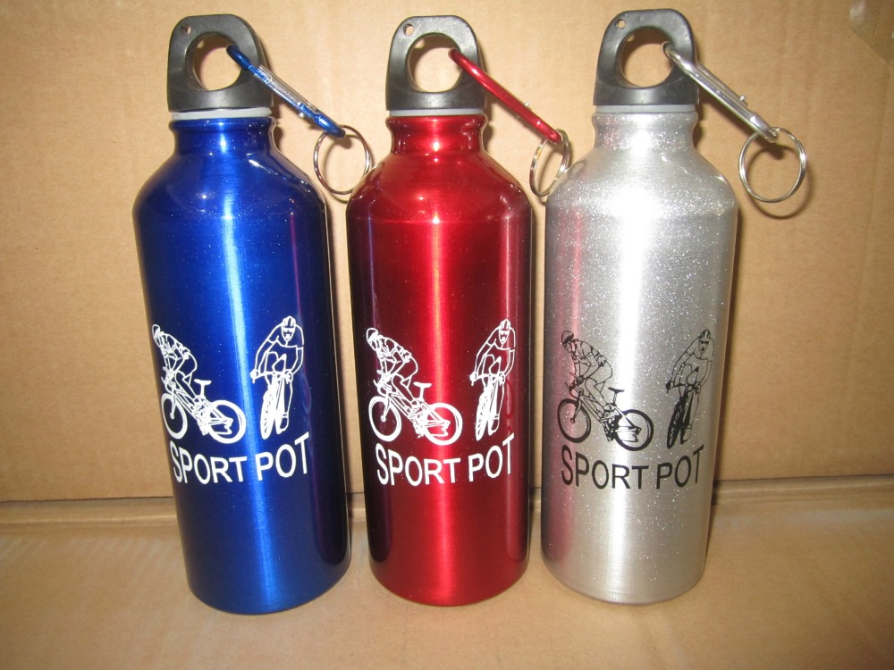 Wholesale Promotional Logo Printed Cheap Aluminum Sport Water Bottle
