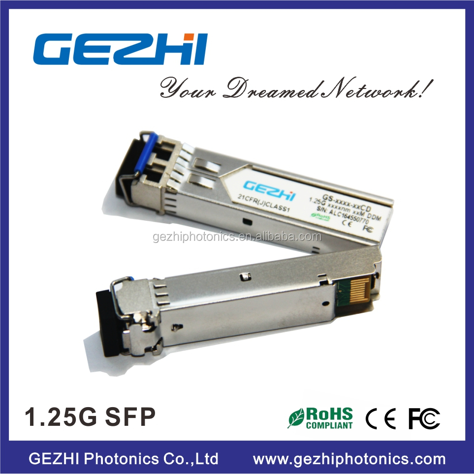 OEM service fiber transceiver 1310nm 20km 1.25g sfp j4859a for hp module