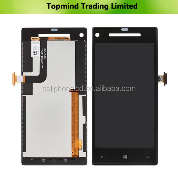 AAA Quality LCD Touch Screen for HTC 8X, for HTC Windows Phone 8X LCD Digitizer Touch