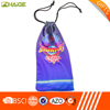 drawstring cell phone case pouch