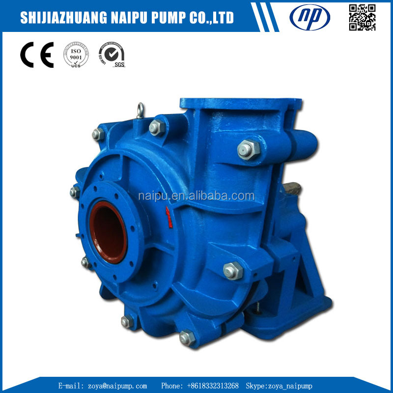 Best Price Made in China High Efficiency Rubber Lined Heavy Duty ZJR Slurry Pump