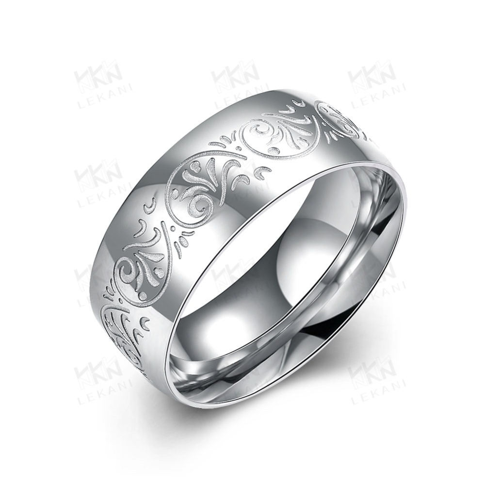 engagement rings stainless steel,wholesale titanium steel ring