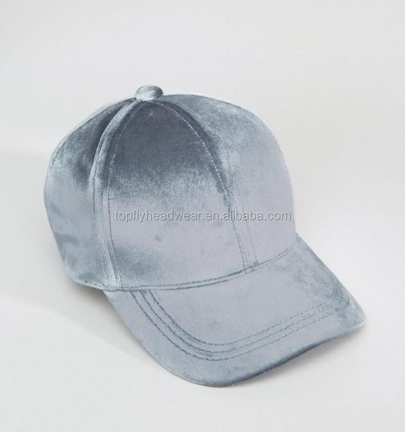 188d14c205d Colorful Velvet Baseball Caps Dad Hat