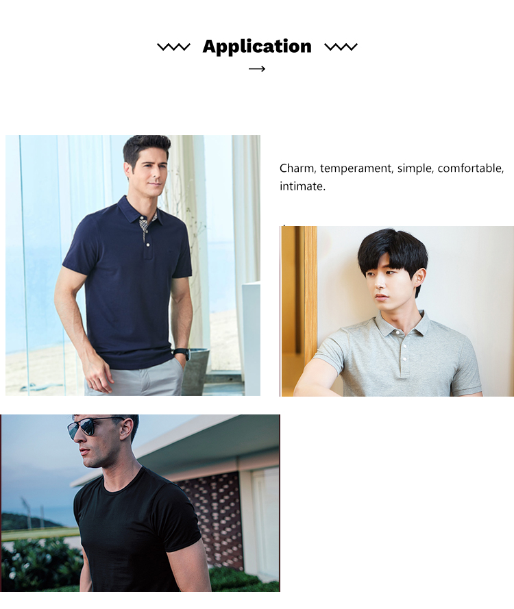 New Design Custom Black Polo Shirt Men
