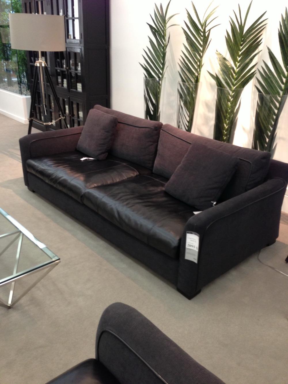 astounding formal living room sofa sets furniture | Modern living room sofa 3 French Designer genuine leather ...