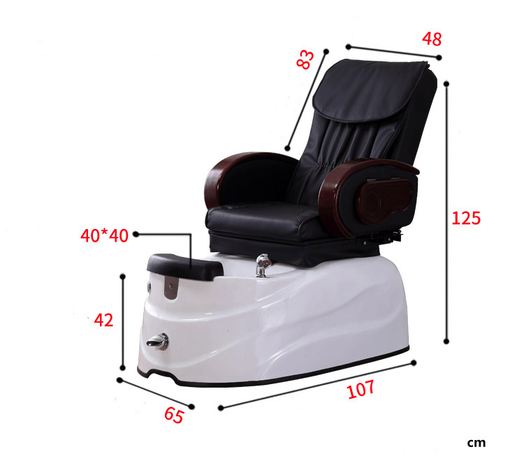 High quality newest pedicure electric spa chair series medical Foot Massage Sofa