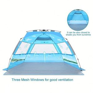 good quality automatic beach shelter infant sand tent