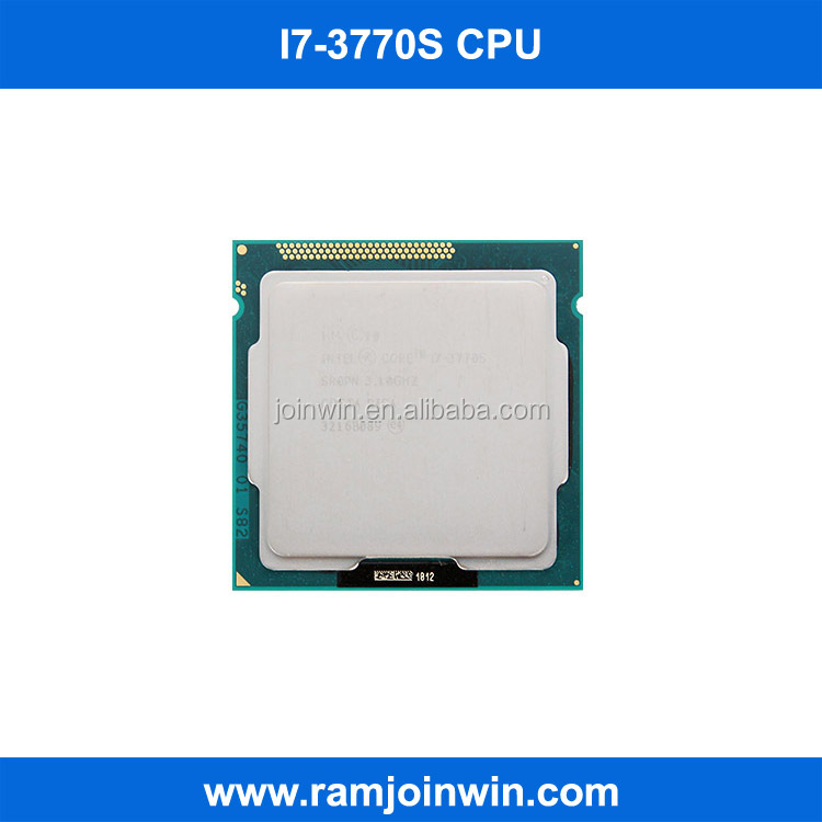 i7 3770s LGA 1155 socket ddr3 memory mini cpu for desktop