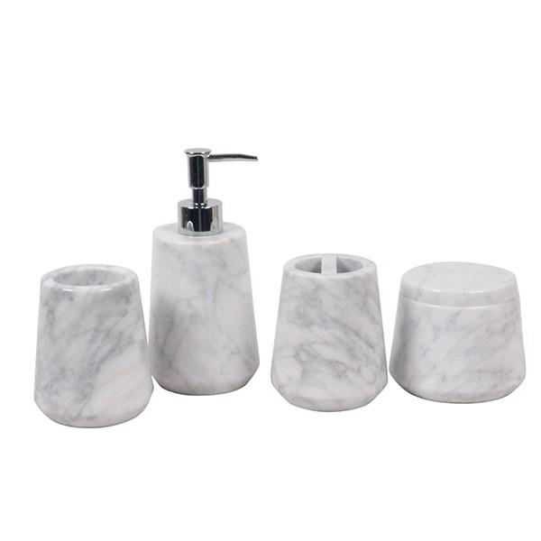 Hot sale stone homeeares white carrara bathroom - Bathroom items that start with l ...