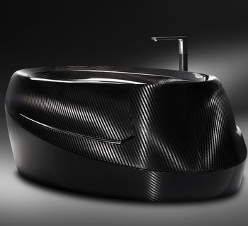carbon fiber basin lightweight luxury design durable construction for villa five stars hotel