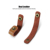 Free Shipping FLOVEME Leather Phone Cable Ties Earphone Charging Wire Cord Cable Organizer Winder