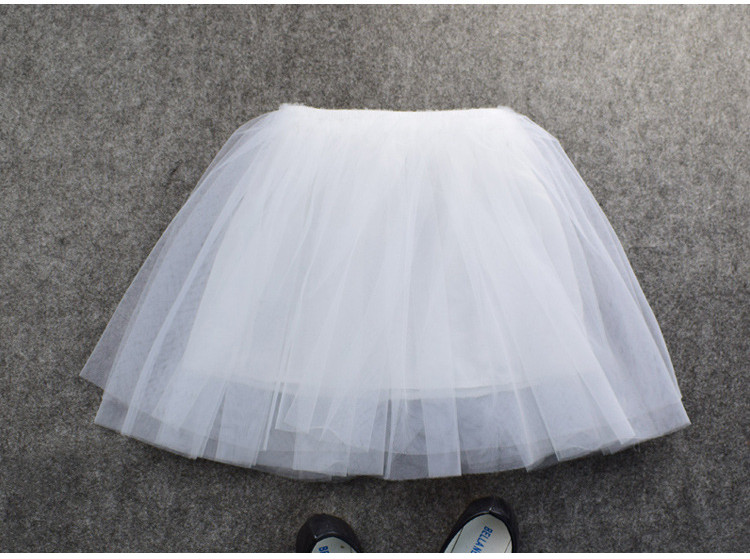 new arrival wholesale breathable ballet fluffy tulle light up baby girls summer tutu skirt