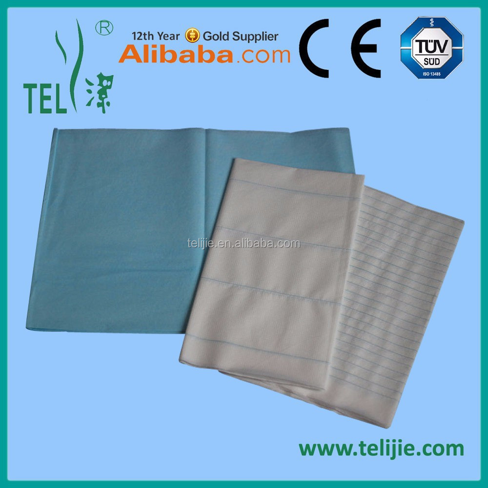 Waterproof disposable bed sheet for hospital with customized size