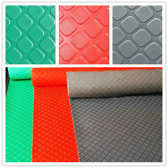 anti slip pvc coin design PVC floor mats