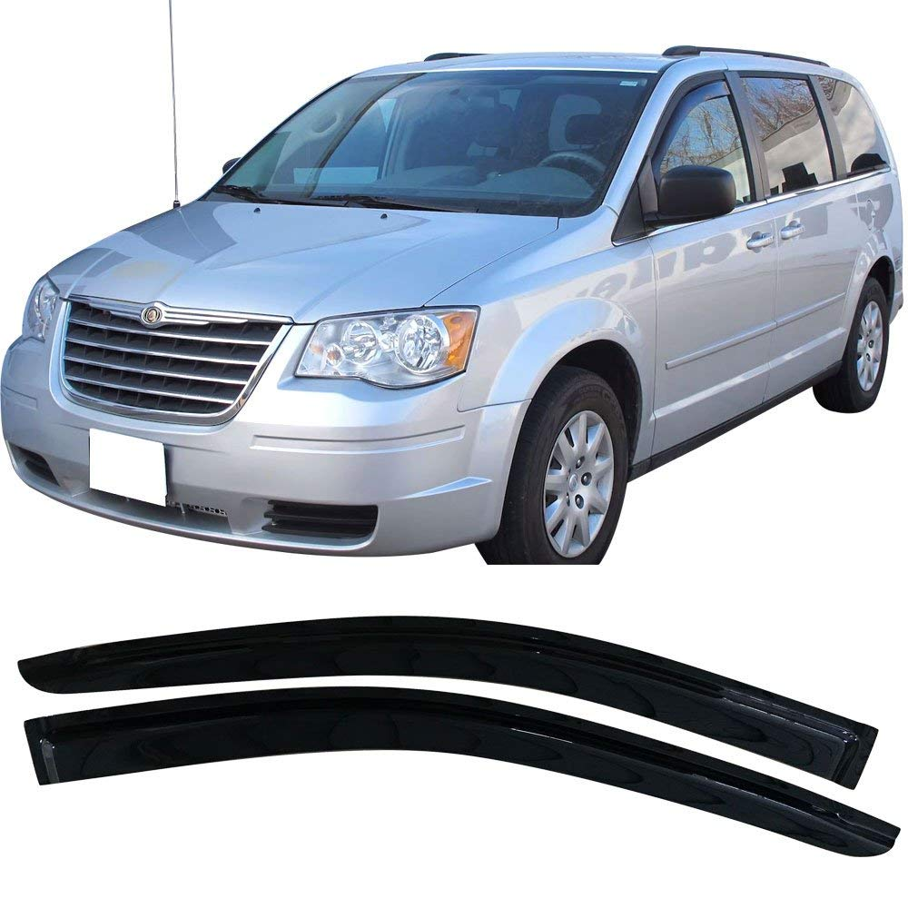 Chrysler Town Country Vent Window Shade Visor Visors
