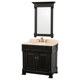 36 Inch Antique Solid Wood Lowes Bathroom Vanity Combo