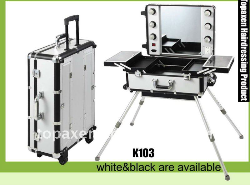 Deluxe Studio Portable Makeup Station View Kryolan Product Details From Topaxen Hair Beauty Products Co