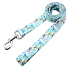 light blue dog leash