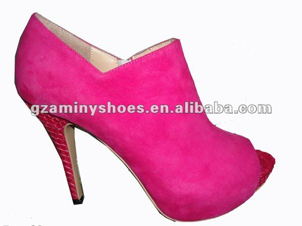shoe dress snake Woman real heel with p5qq8w