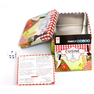 Tin box packed memory kids game cards children education cards printing