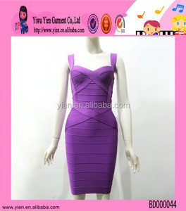 2015 original selling high quality bandage dress wholesale sexy strap cheaper girl boob tube top tight dress