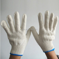High quality cotton gloves bulk