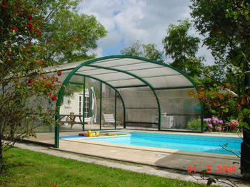 Pc Polycarbonate Solid Canopy For Swimming Pool Cover