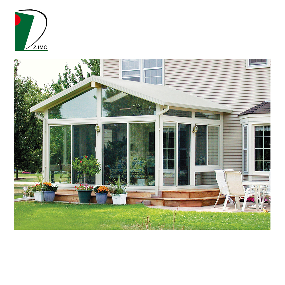 2017 New Design Garden Glass Sun Room House Garden Conservatory Winter Garden