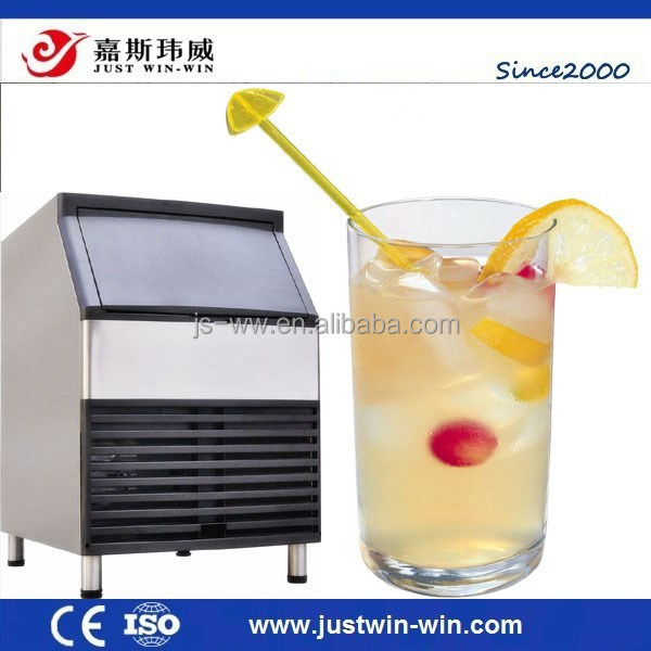 fresh vegetables fruits commercial cube ice machine/ 100KG/24hour water dispenser ice make