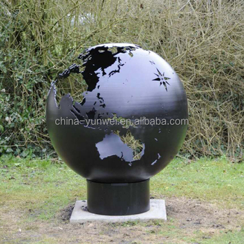 fashion patio the third word globe fire pit for outdoor buy the