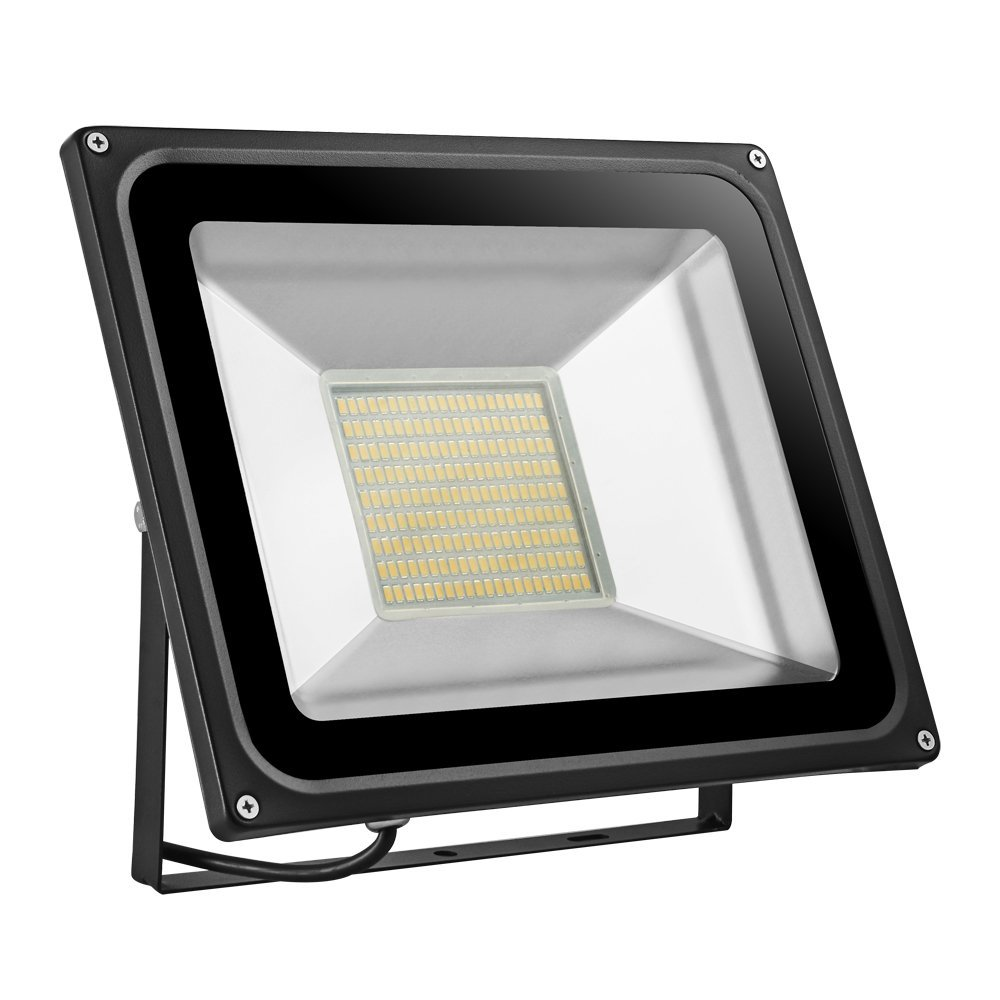 CHUNNUAN LED Flood Light 10/20/30/50/100/150/200/ 300/500W Waterproof, IP65,CE and ROHS Certified Aluminium Strahler 110V (warm white, 150w)