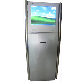 Touch self service printing kiosk