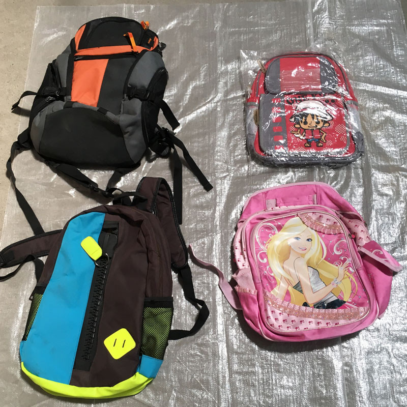 offer high quality mixed second hand hand bags used school bags with factory price