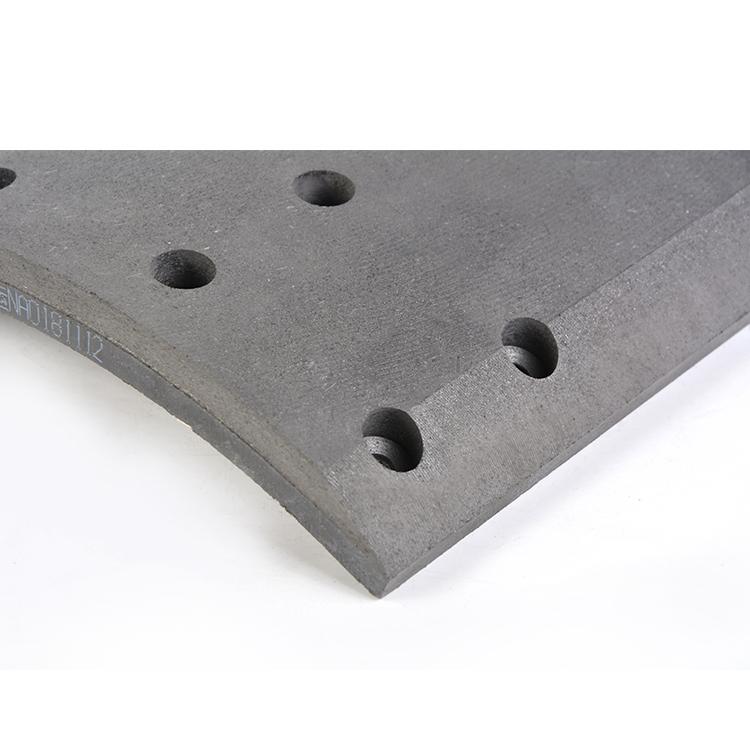 Fabrik Preis Standard OEM Reibung Material Lkw Bremsbelag