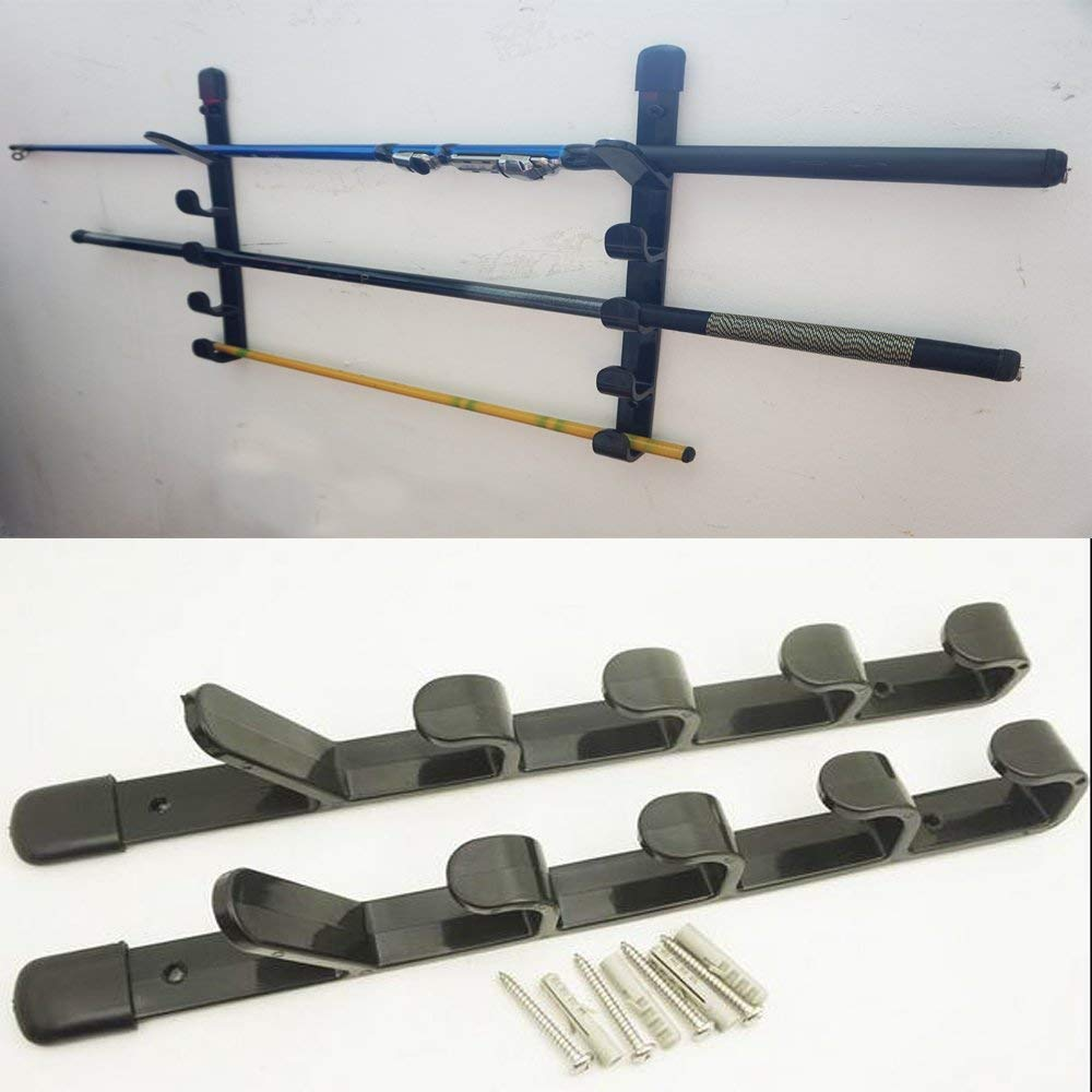 ECONOMICAL 5-ROD VERTICAL FISHING ROD HOLDER STORAGE RACK Other Equipment BOAT/YACHT/GARAGE