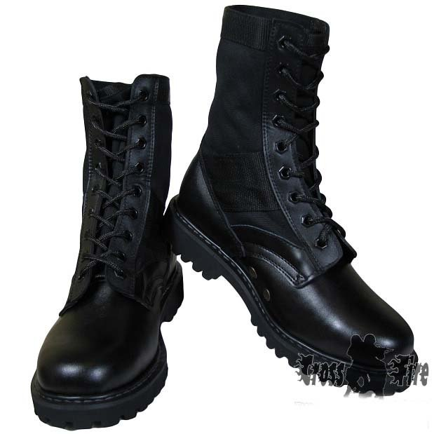 When it comes to combat boots, you don't have to be in the military to enjoy this rugged look. In fact, military-inspired boots are a great look for casual, relaxed days. Men, women and teens will enjoy the masculine look of a sturdy pair of boots, without feeling like they are ready to fight a battle.