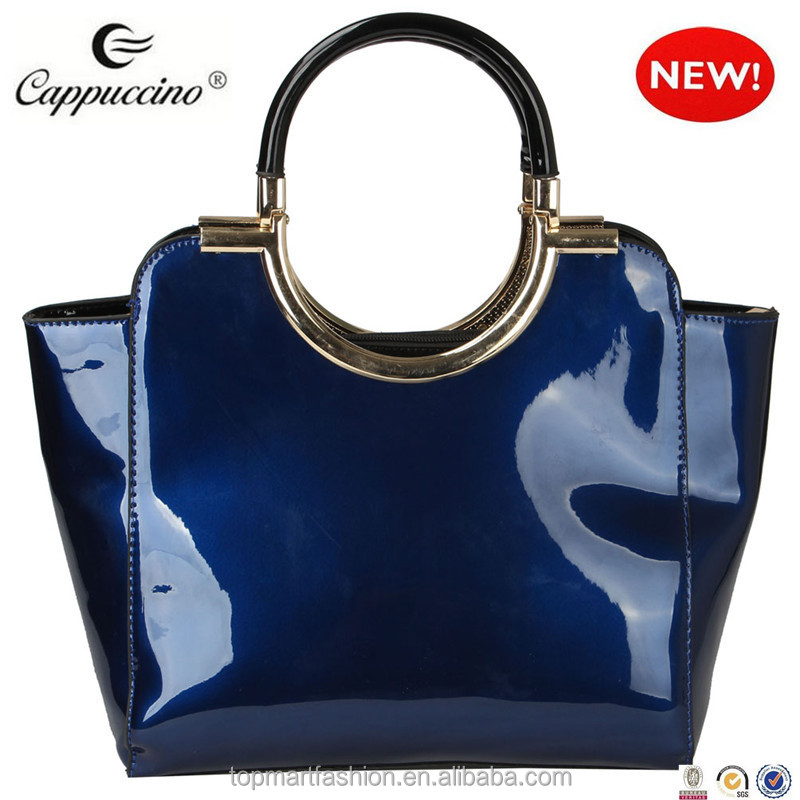 64b05e3ab932 Alibaba China Supplier Hot New Products For Patent Faux Leather Tote ...